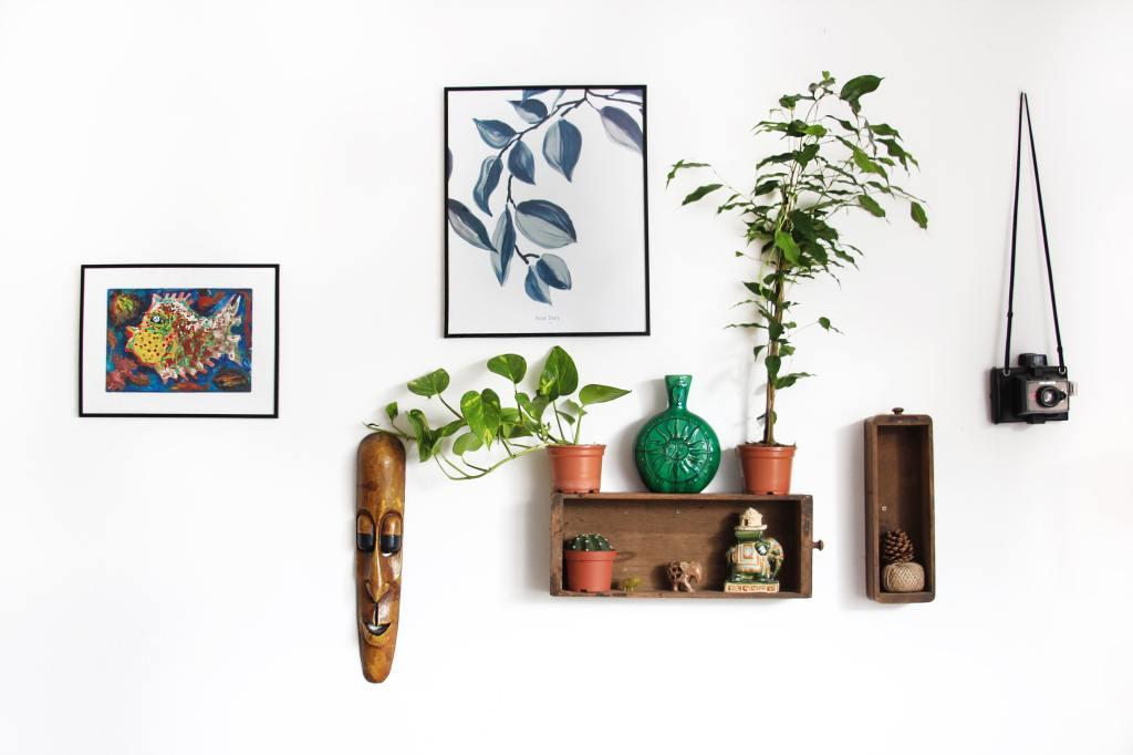 Los objetos decorativos tienen su propia energía.