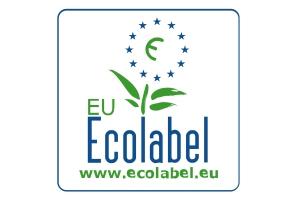 Etiqueta europea para materiales ecológicos.